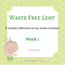 waste free lent blog week 1