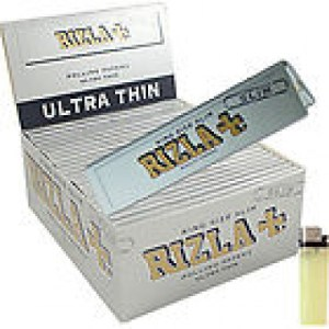 RIZLA Silver Slim King