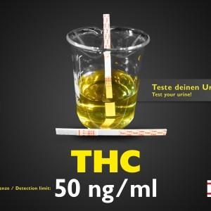 Test delle urine Striscia THC standard 50