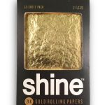 Shine 24K 1/4 SIZE Gold Rolling Papers 12