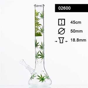 LEAF JHARI BEAKER GLASS BONG