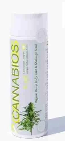 X-Olio canapa biologico per la cura del corpo LEMON PLUS