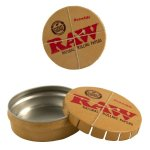 RAW POP TOP TIN CASE