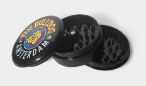 The Bulldog Grinder Plastica Nero 3 parti