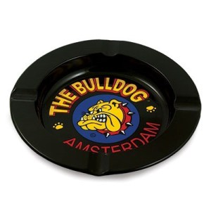 THE BULLDOG TIN ASHTRAY