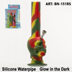 New Ways Silicon Bong Glow in the dark