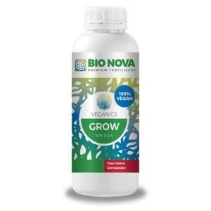 BIO NOVA VEGANICS GROW BIO NOVA VEGANICS GROW Bio Nova Veganics GROW è un nutriente liquido al 100% organico ed è particolarmente raccomandato per l'agricoltura sostenibile e l'agricoltura biologica. Veganics GROW è formulato per essere utilizzato durante l'intera fase di crescita. Caratteristiche di Veganics Grow