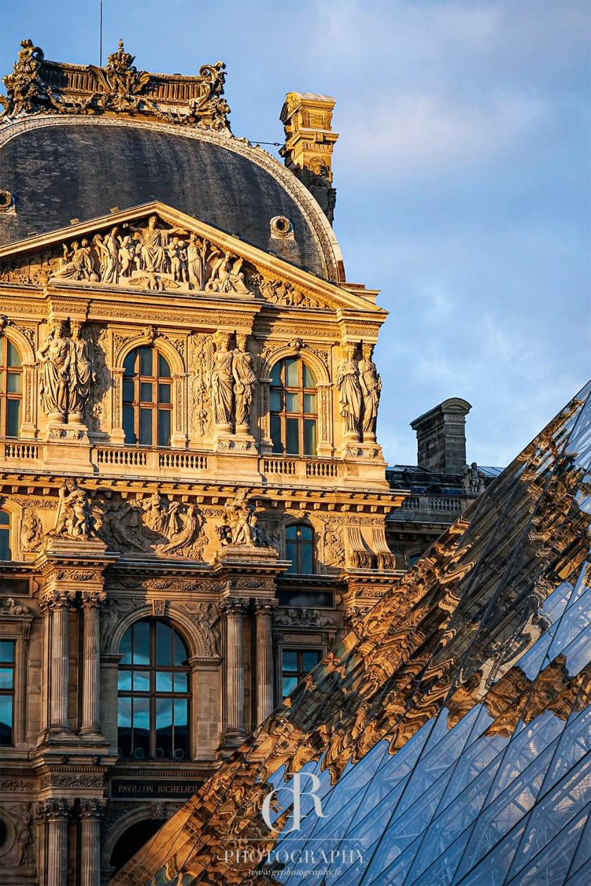 Louvre Print