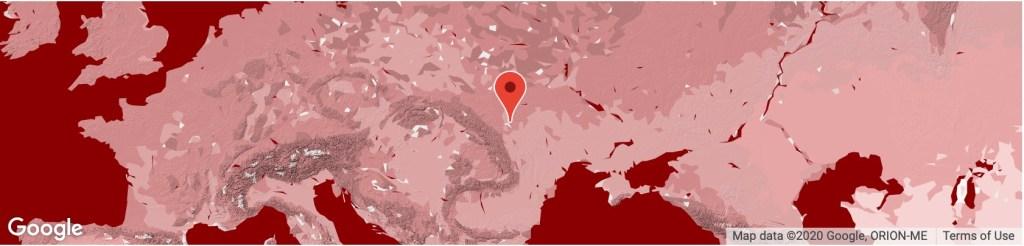 Location Khotyn Ukraine
