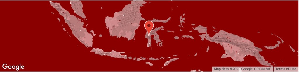 Location Sulawesi