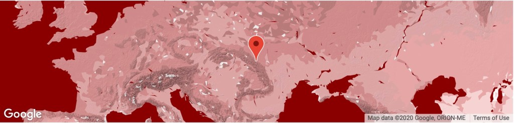 Location_UkrainianCarpathians