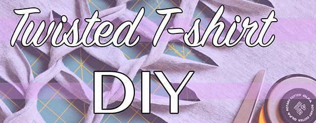 Knotted T-Shirt DIY