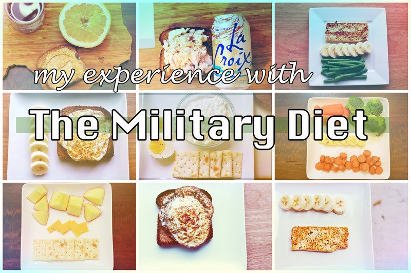 my experience with the military diet