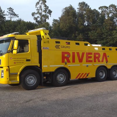 Grúas Rivera Remolcador