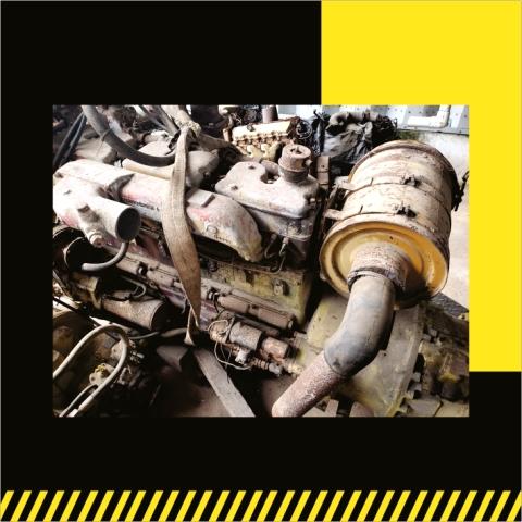 Motor Cummins 855- Venta de Partes - Grúas SHL