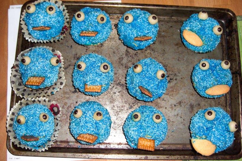 Werbung Muffins Monster