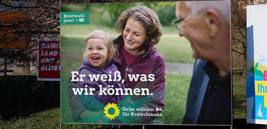 kampagnenprasentation zur landtagswahl