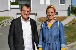 Architekt DI Anton Mayerhofer und Anja Haider-Wallner