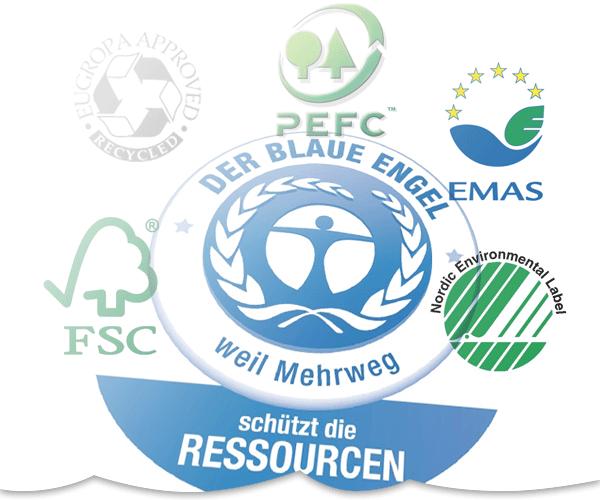 Siegel für Öko-Papiere – nur wenige Zertifikate nutzen der Umwelt tatsächlich