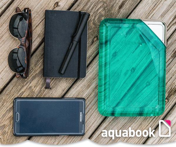 aquabook – Die geniale Wasserflasche