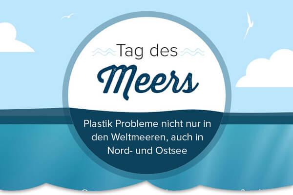Plastik Probleme nicht nur in den Weltmeeren, auch in Nord- und Ostsee