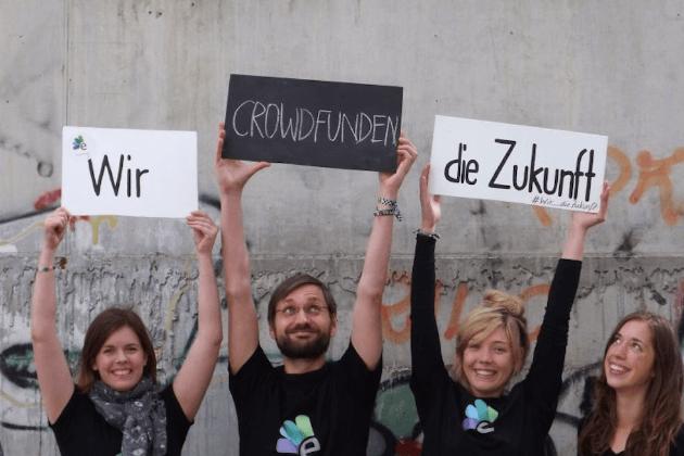 Die Online-Plattform EcoCrowd finanziert ihre eigene Crowdfunding-Kampagne