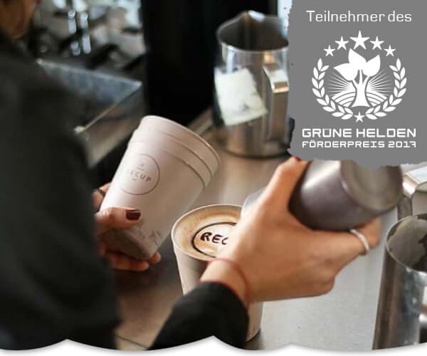 RECUP: Coffee-to-Go für Fortgeschrittene