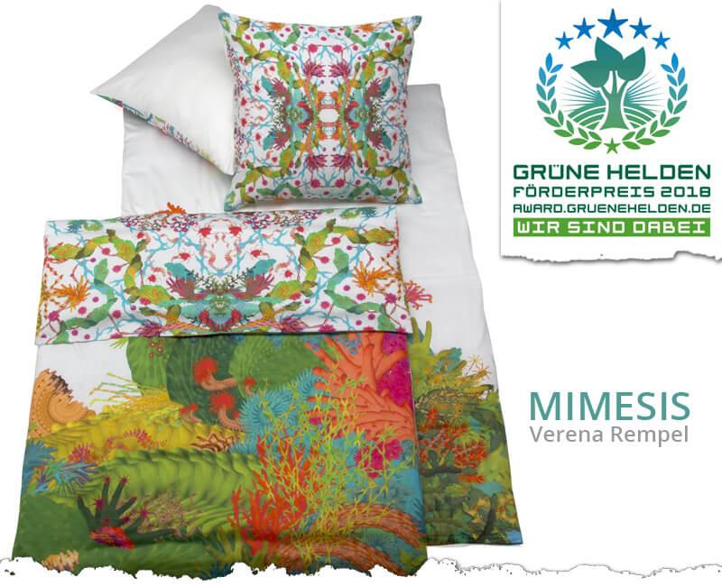 Art touches Design – MIMESIS Eco-Wendebettwäsche