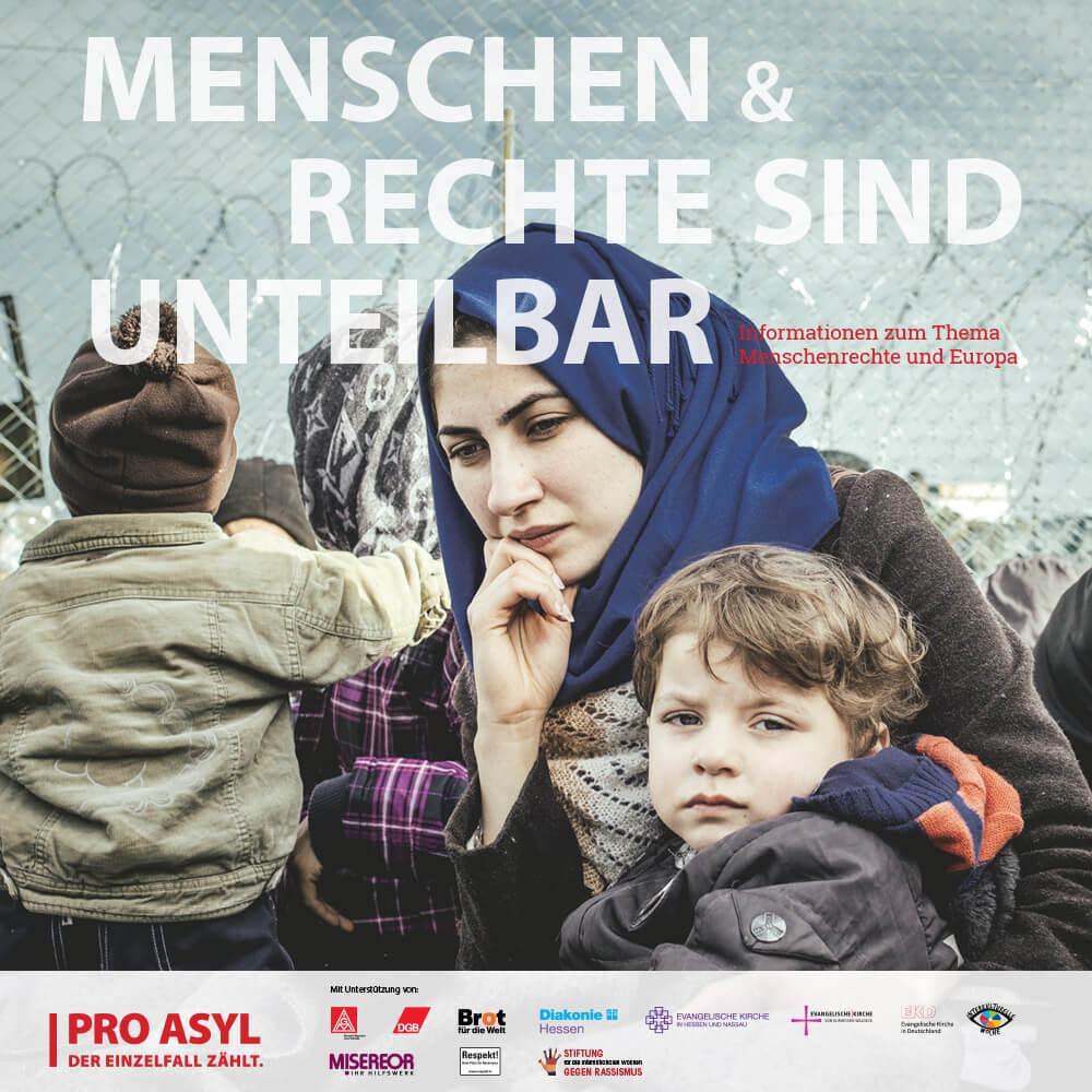Menschen & Rechte sind unteilbar | Ausstellung