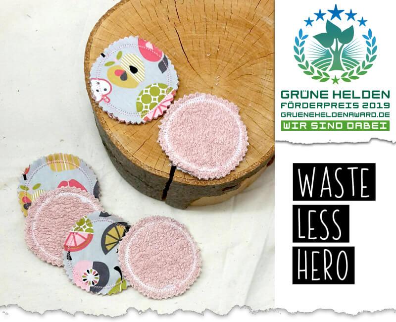 Weste Less Hero – mit mehrfach verwendbaren Produkten Müll vermeiden