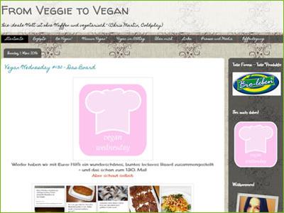 From Veggie To Vegan