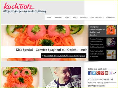 Kochtrotz - Allergiefrei Genießen & Gesunde Ernährung