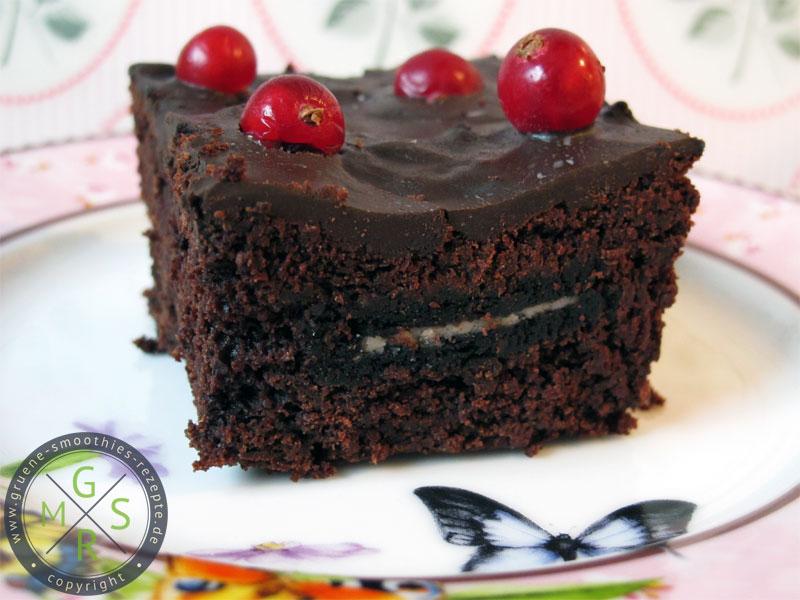 Rote Bete Brownies mit Oreofüllung - Yammie <3 - Einfach super lecker!