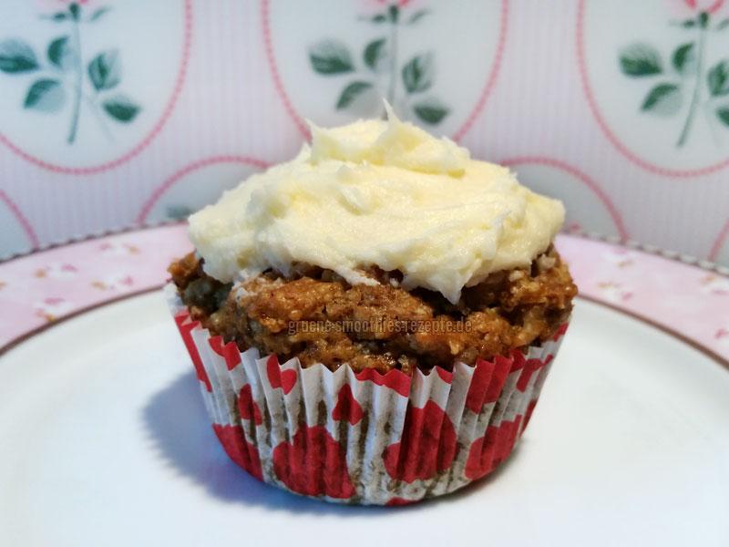 Yammie - Die veganen Rübli-Cupcakes mit Orangen-Frosting