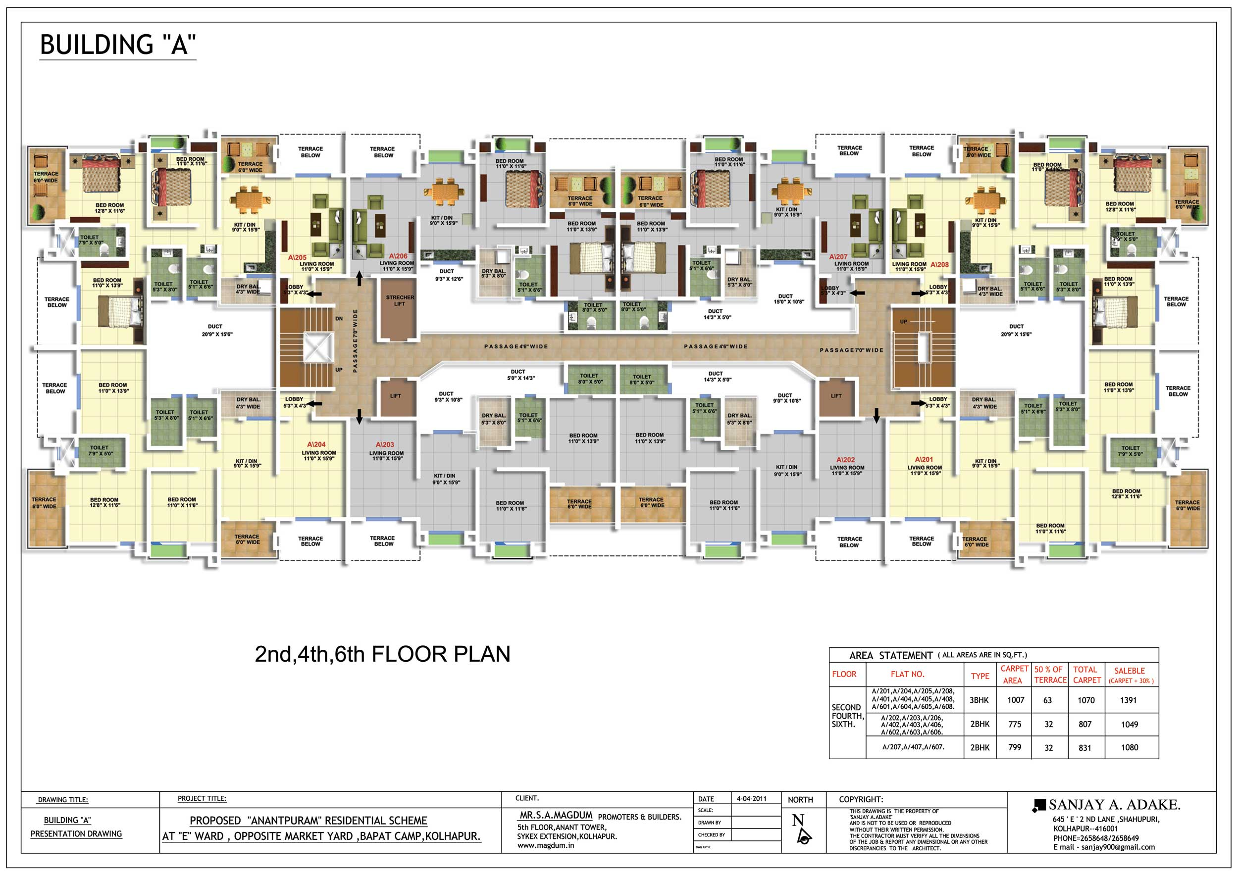 Building Floor Plan Layout