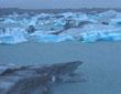 Jokularlson glacial lagoon