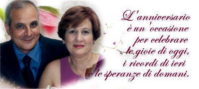 Anniversario Matrimonio 41 Anni.Grumo Nevano Franco E Carolina 41 Anni Di Matrimonio