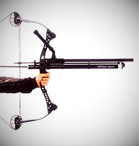 Airow Gun - Paintball Gun/Bow Combo