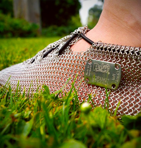 GoSt-Barefoots Paleos PRONATIVE Chain Mail Shoes