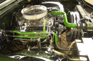 Chevy 350 Cylinder Head Cutaway