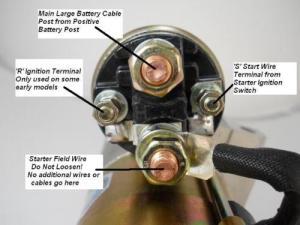 Remote solenoid, schematic   Grumpys Performance Garage