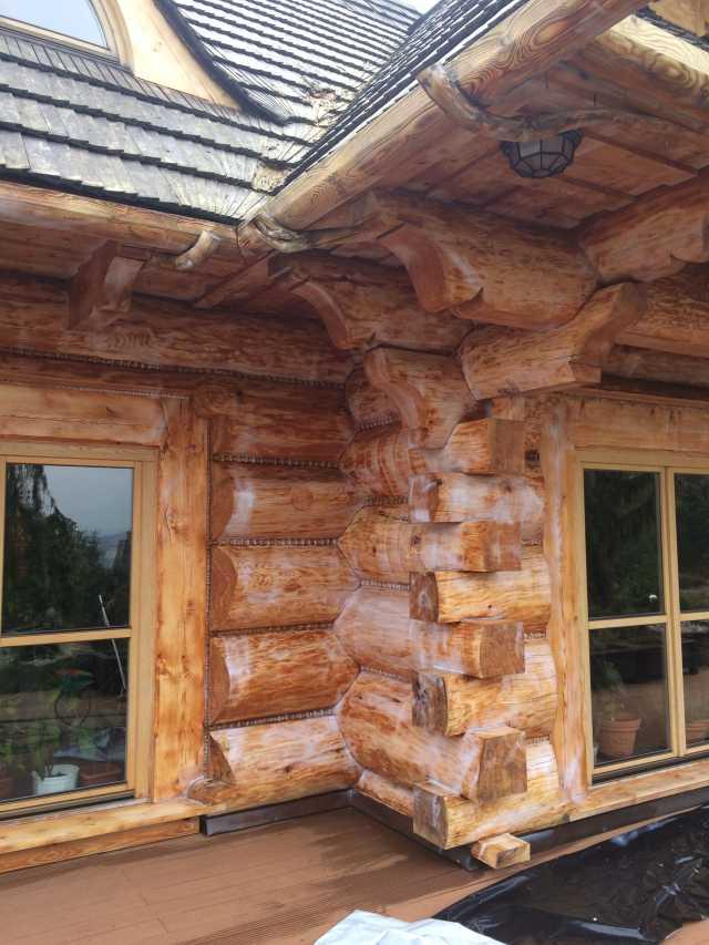 Żelowanie drewnianego domu xilix