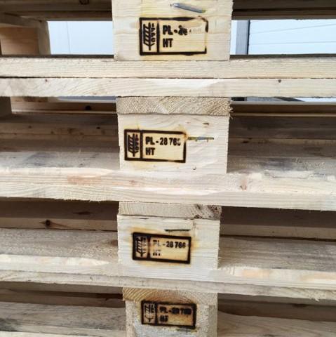 fumigacja drewnianych palet