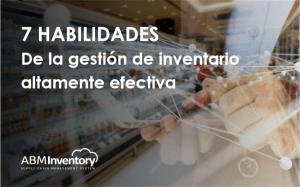 E-book: 7 habilidades de la gestión de inventario altamente efectiva
