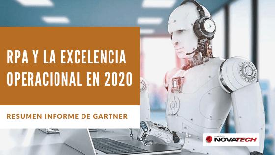 RPA en 2020 y la Excelencia Operacional