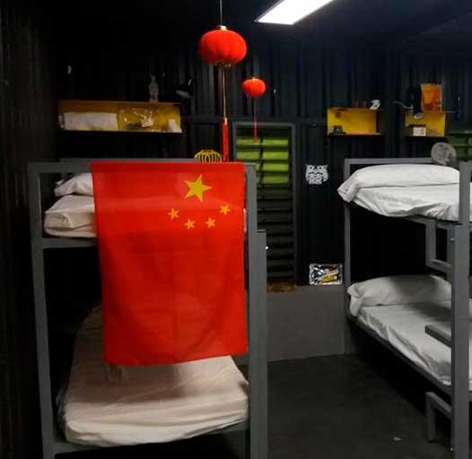 decoración celdas chinas vis a vis