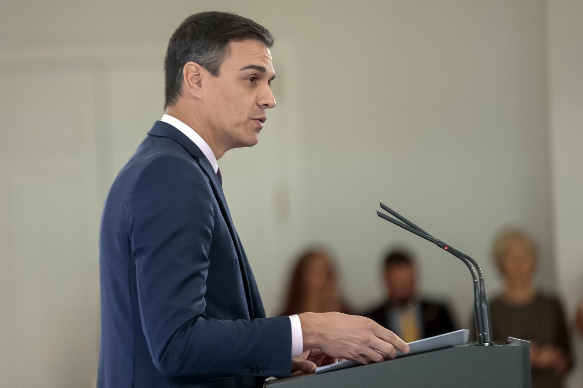 Sánchez anuncia en un acto del PSOE que el Gobierno aprueba mañana un plan de retorno de 23 millones para 24.000 jóvenes