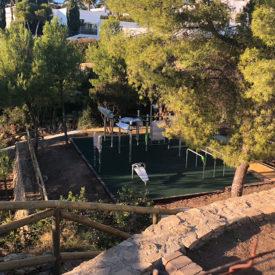 Parque calistenia