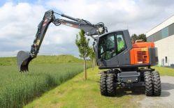 ATLAS 160 WSR Peso de 16500 Kg Potencia 130 CV Profundidad de excavación 6,15 m