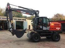 ATLAS 190 W Peso de 20800 Kg Potencia 158 CV Profundidad de excavación 6,71 m
